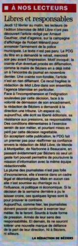 Tribune Midi Libre