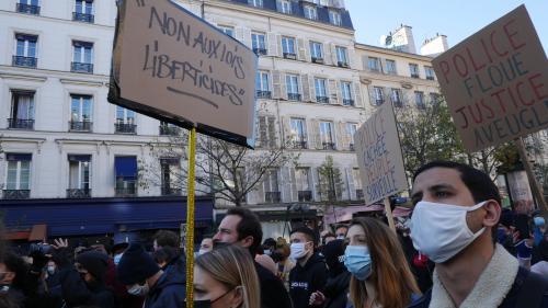 Marche des Libertés Paris 281120. Photo SNJ - Brice Ivanovic